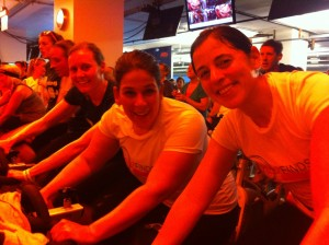 Liz, Kristen, Maureen, Deb and I worked hard!