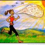 Art-Quotes-Runners-Feed-Quote-And-The-Picture-Of-The-Running-Woman