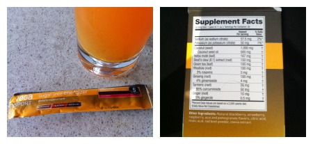 Great nutrition profile and looks like healthy Tang!