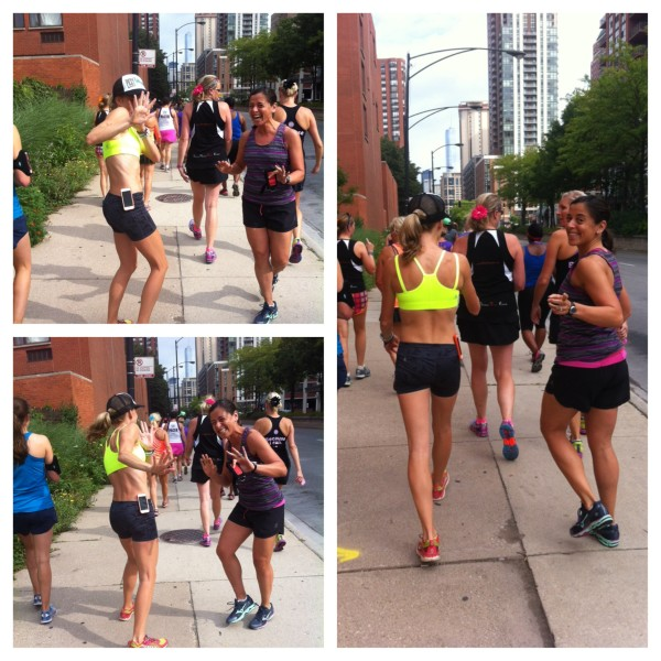 Funning with Lauren Fleshman. No Paparazzi! #POParazzi. Thanks to Stacy Roberts for the awesome pics