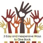 5 easy give bacj FI
