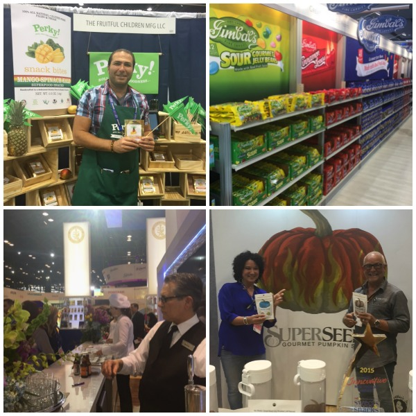 Clockwise from top left - Gil from The Fruitful Children, Gimbal's, SuperSeedz and Lindt Chocolate and Beer Tasting
