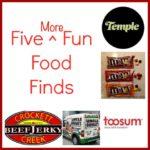 five more fun food finds FI