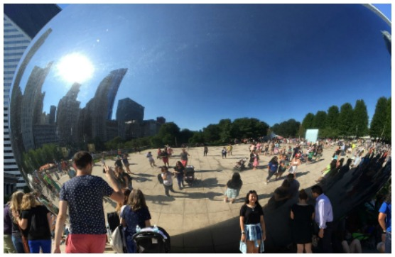 Can you see me in the Bean?